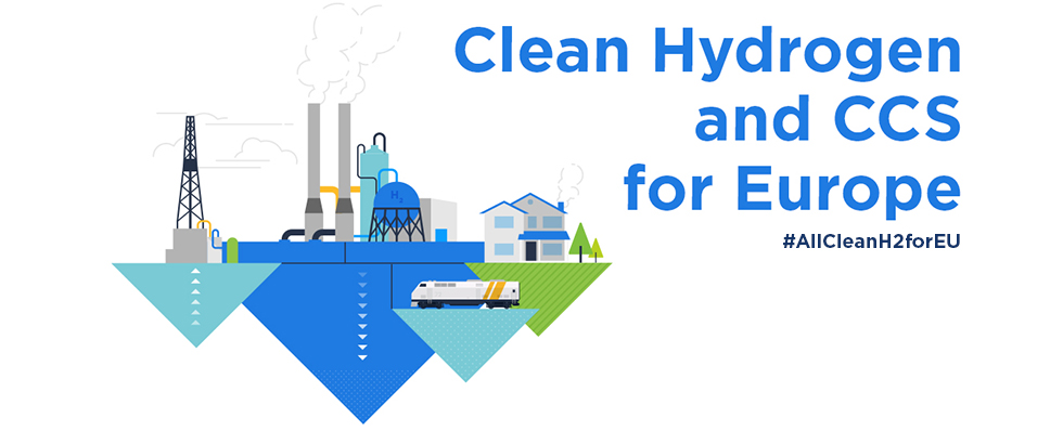 Clean Hydrogen and CCS for Europe #AllCleanH2forEU